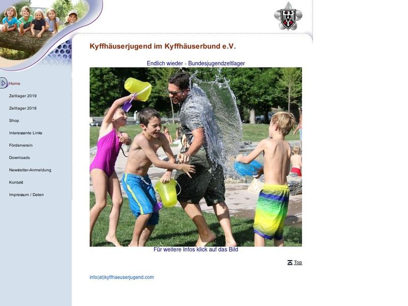 Screenshot von https://www.kyffhaeuserjugend.com/